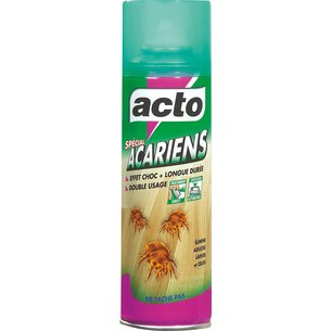 Insecticide anti-acariens