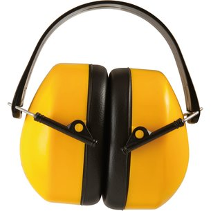 Casque anti-bruit - Jaune - Réduction sonore 30 dB