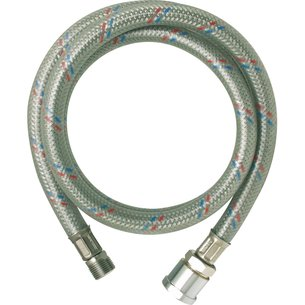 Flexible inox gainé PVC - Femelle / Mâle - Filetage 1/2""