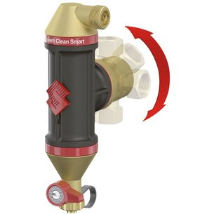 Séparateur d'air et de boue Flamcovent Clean Smart-2