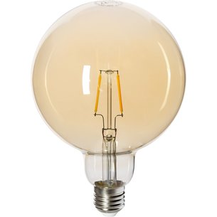 Ampoule globe LED Filament Golden E27