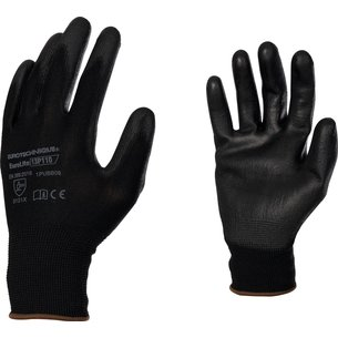 Gants manutention de précision - Enduction PU - Gris