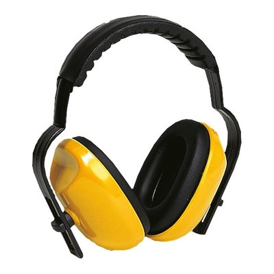 Casque anti-bruit - Jaune - Réduction sonore 25 dB