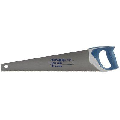 Scie égoïne de coffreur Outibat - Manche bi-matière - Longueur 500 mm