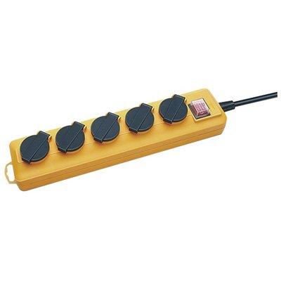 Bloc multiprise avec interrupteur pro-line 3G1,5 mm²