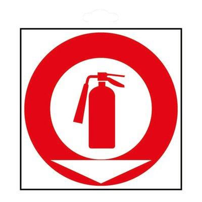 Panneau signalétique de prévention incendie