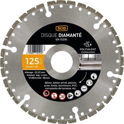 Disque diamant polyvalent Expert - Diamètre 230 mm