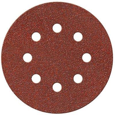Disque abrasif auto-agrippant perforé - Diamètre 125 mm