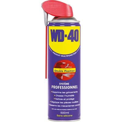 Aérosol et bidon WD 40 - 500 ml