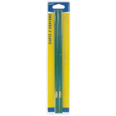 Crayon de maçon mine dure Outibat - 2 crayons - Pro