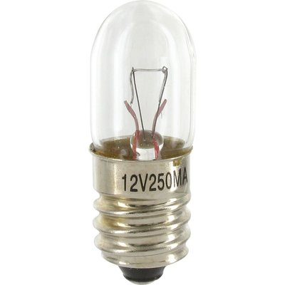 Ampoule halogène principale - Pour bloc lumineux - Culot E10