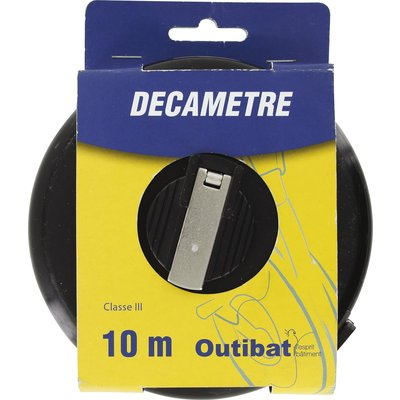 Mesure decamètre ruban fibre Outibat - Décamètre