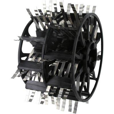 Peigne acier inoxydable Outibat - Pour machine à crépir