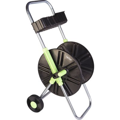 Dévidoir ABS de tuyau sur roues avec clayette Cap Vert