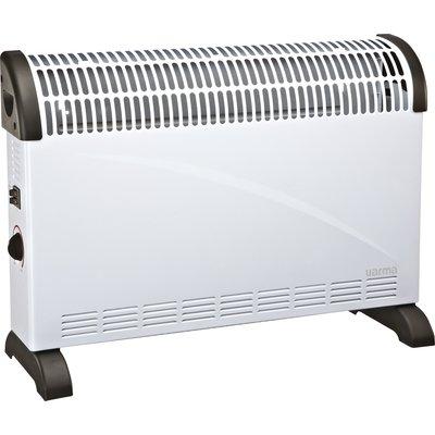 Convecteur mobile turbo ventilation Varma - 2000 W - Blanc