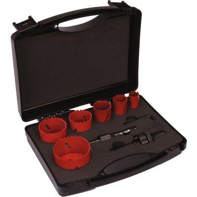 Kit complet trépan HSS bimétal SCID - 6 trépans - Spécial plombier