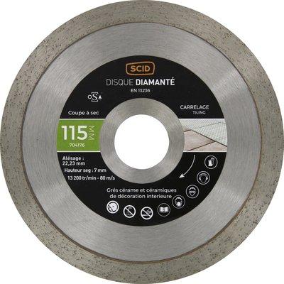 Disque diamant carrelage  Expert - Diamètre 115 mm