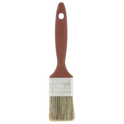 Pinceau queue de morue - Manche bi-matière - Spécial lasure