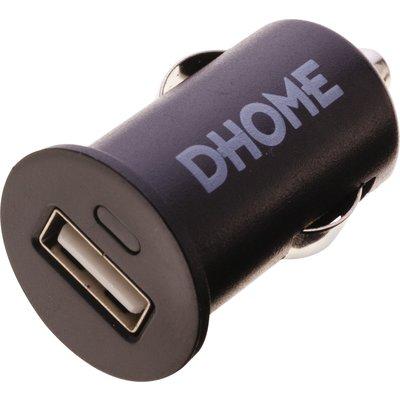 Adaptateur allume-cigare et USB Dhome - 1 sortie