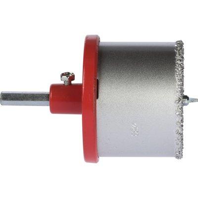 Trépan concrétion carbure multilames SCID - Profondeur 55 mm - 4 lames