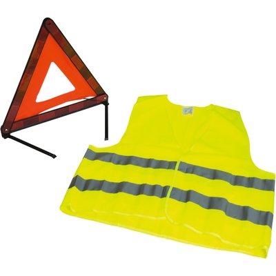 Kit triangle de signalisation avec gilet Altium