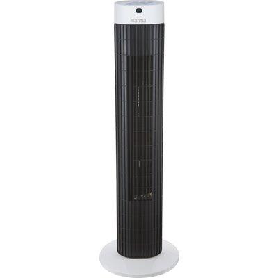 Ventilateur tour oscillant Varma - Gris et noir