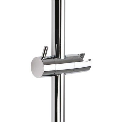 Curseur de barre de douche à poignée - Diamètre barre 25 mm