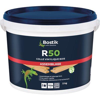 Colle vinylique prise moyenne 5 kg - R50 - Bostik