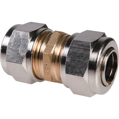 Raccord laiton droit à serrage - Femelle - Ø 12 mm - Rapido