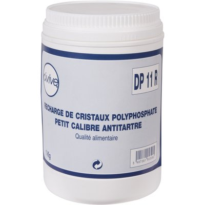 Recharge cristaux polyphosphate