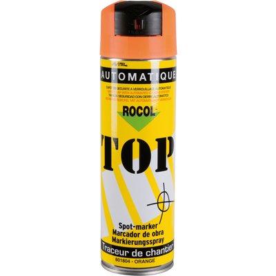Marqueur aérosole blanc - 650 ml - Top - Rocol