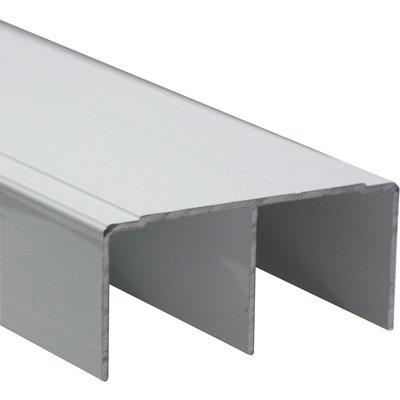 Rail haut de guidage - Placardécor - Noir mat