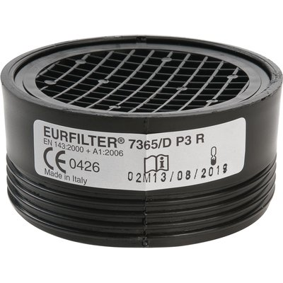 Galette filtrante anti-poussière et anti-gaz vapeur - Pour demi-masque resp