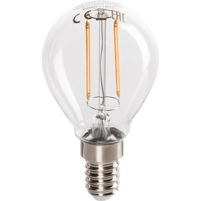 Lampe LED Luster Classic à filament E14 - Philips