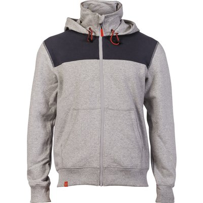 Sweat bicolore Ocampo gris
