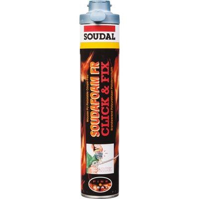 Mousse polyuréthane Soudafoam FR Click & Fix