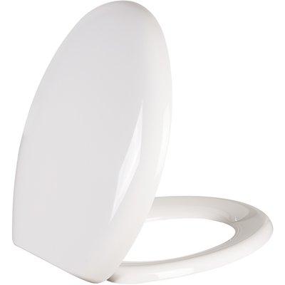 Abattant WC blanc double - Vallauris Premium - Siamp