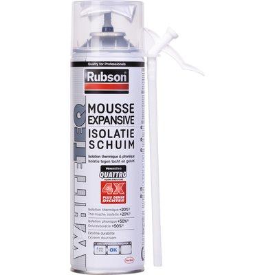 Mousse expansive Whiteteq - Isolation thermique et phonique