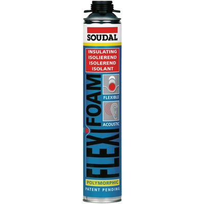 Mousse PU click & fix - flexifoam - Soudal
