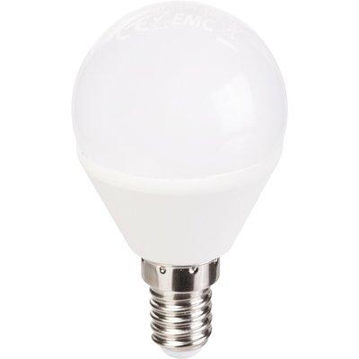 Ampoule LED Sphérique - E14 - 4 W - 350 lm - 4000 K - Vision-EL