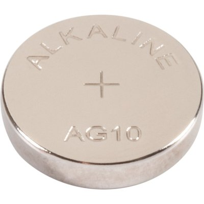 Pile bouton alcaline 1,5V - LR44 - AG10 - Ansmann