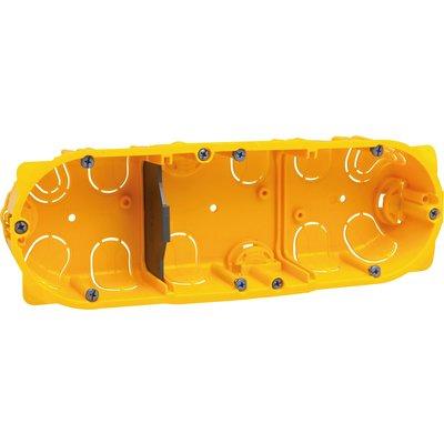Boîte d'encastrement Batibox - 3 postes
