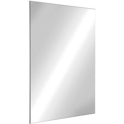 Miroir rectangulaire inox - 500 x 400 mm - Delabie