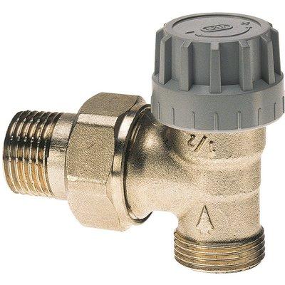 Robinet thermostatique Senso M28 de radiateur - Équerre - Mâle