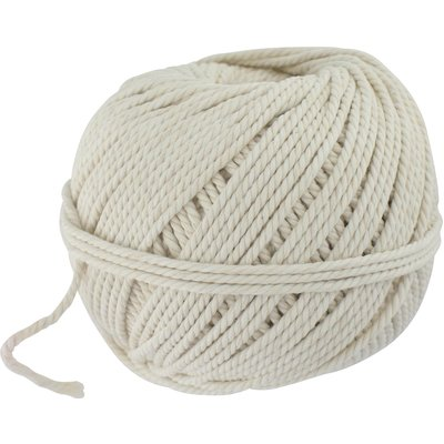 Cordeau de maçon en fil de coton blanc