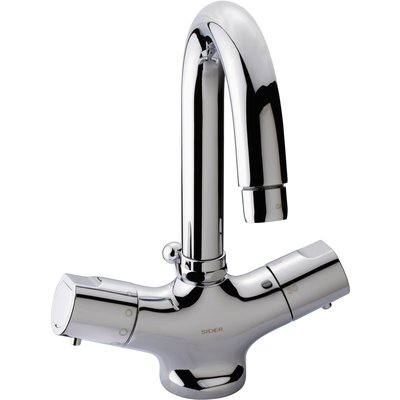 Mitigeur thermostatique lavabo Thermo-Confort - Bec haut