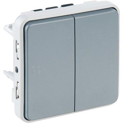 Double va et vient Plexo composable IP 55 - Legrand