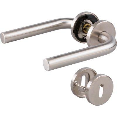 Poignée de porte sur rosace EST.ZG 51 - Double - Mat