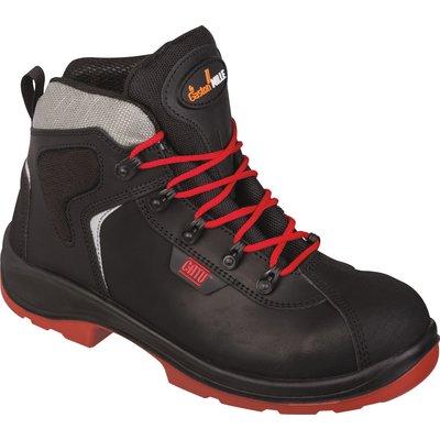 Chaussures hautes de sécurité à semelle isolante pour utilisation intérieur