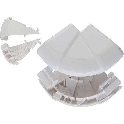 Angle extérieur variable - Pour goulottes 35 x 80 / 105 mm - Couvercle 65 e
